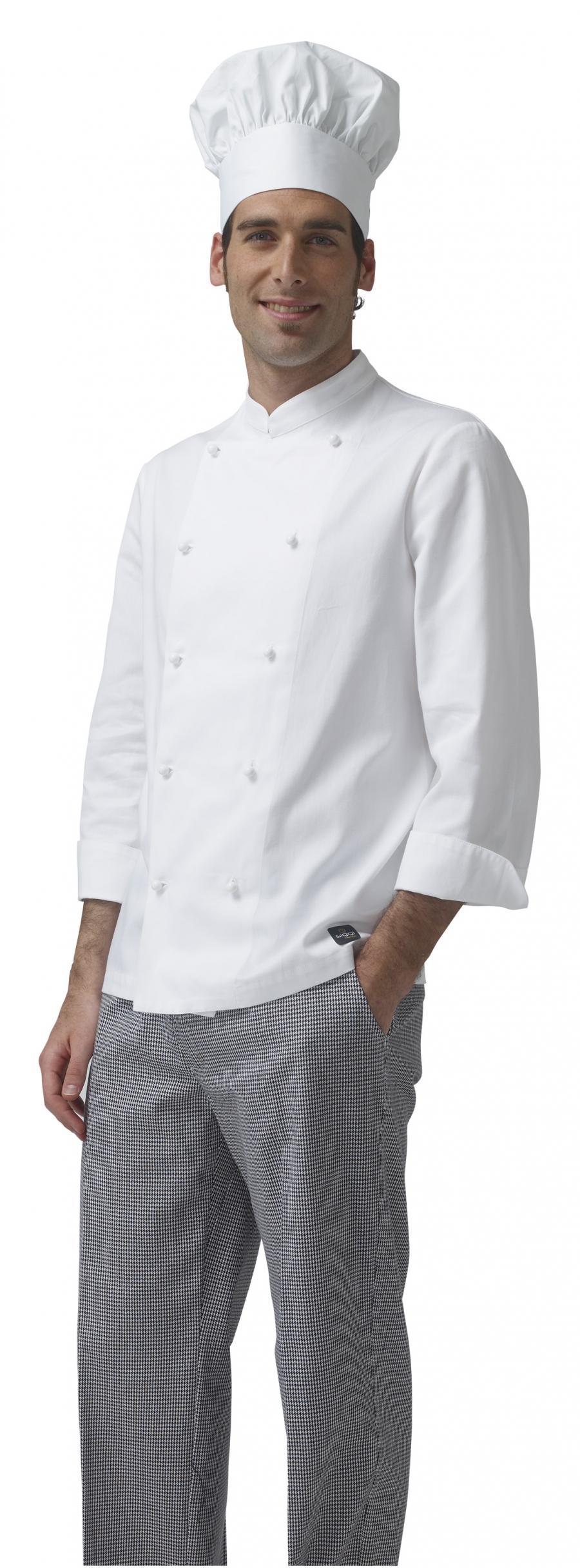 cappello da lavoro da cuoco/pasticciere unisex 100% cotone