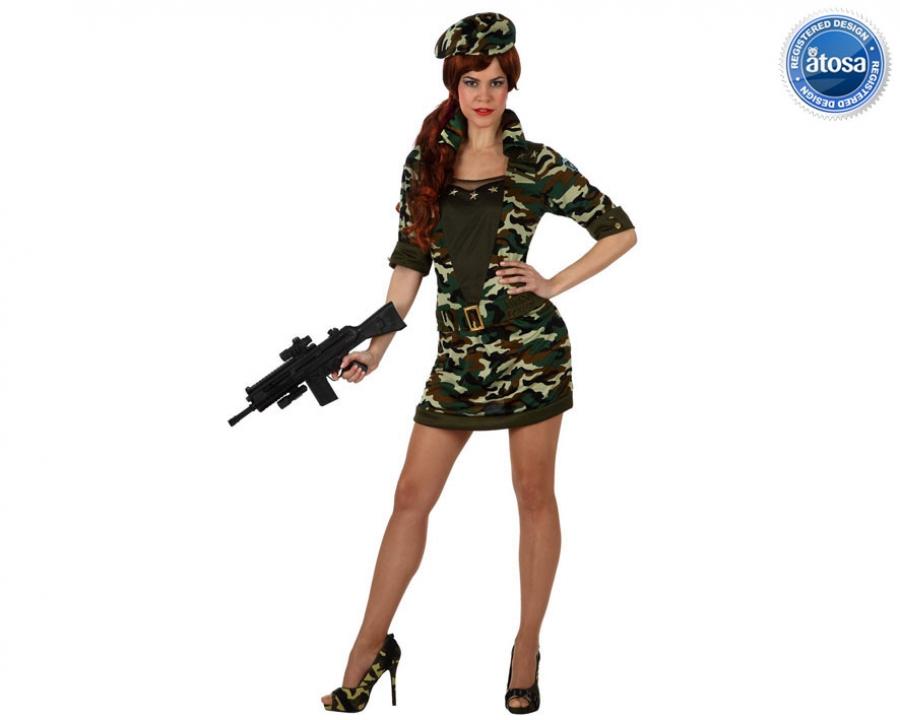 d6ea53e16e3d costume carnevale da militare sexy (a-10316) su Masina Shop