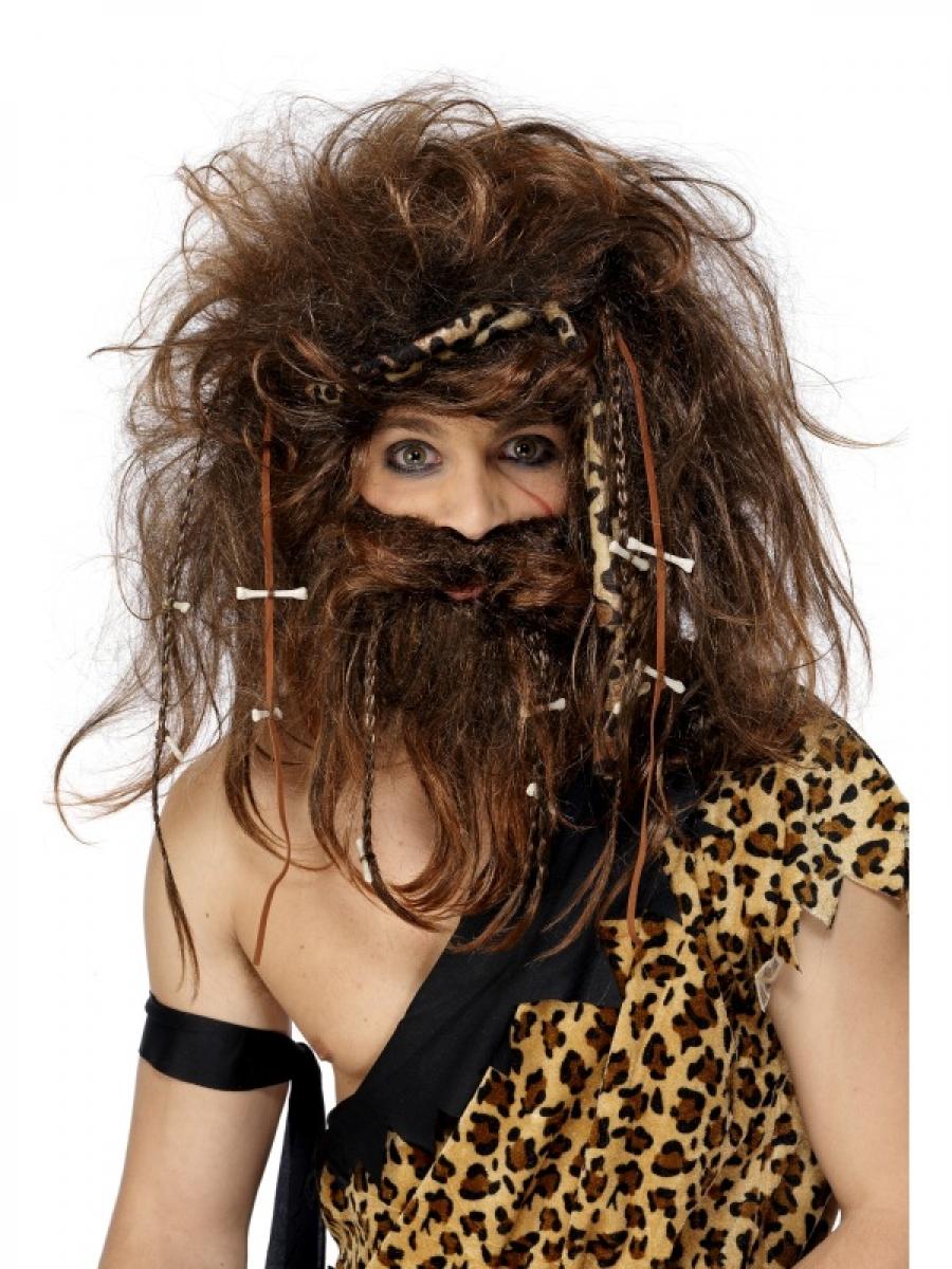 parrucca da cavernicolo (s-31734-530) su Masina Shop