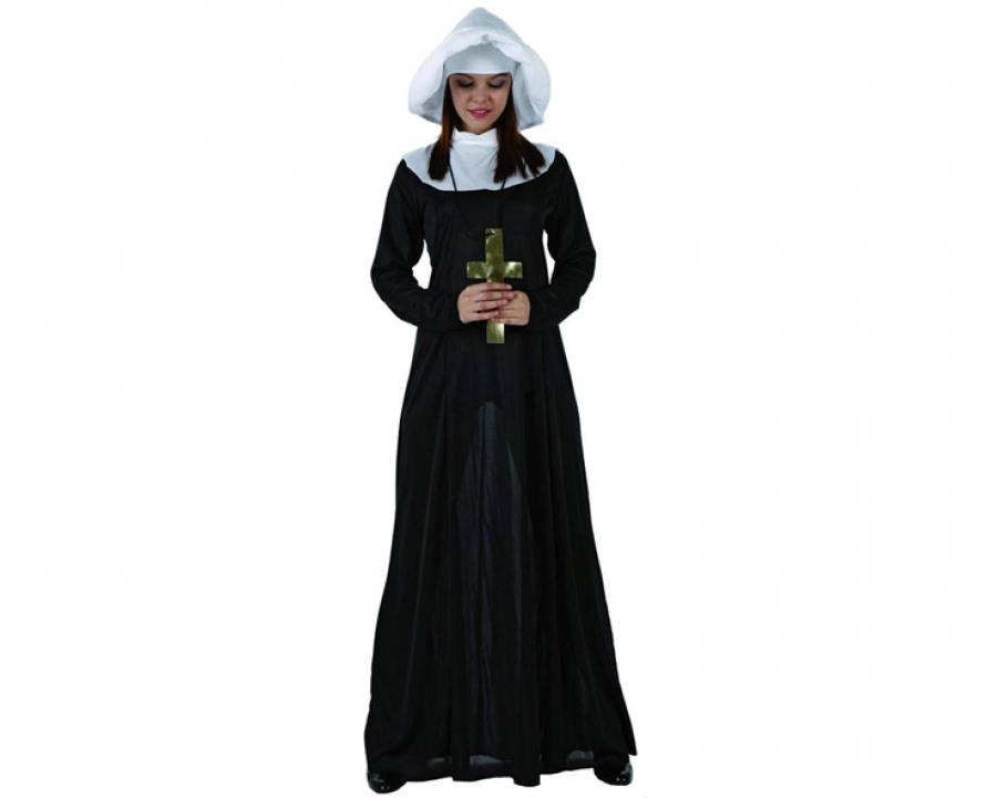 ricco e magnifico professionale più votato design professionale costume carnevale da suora (a-73810)