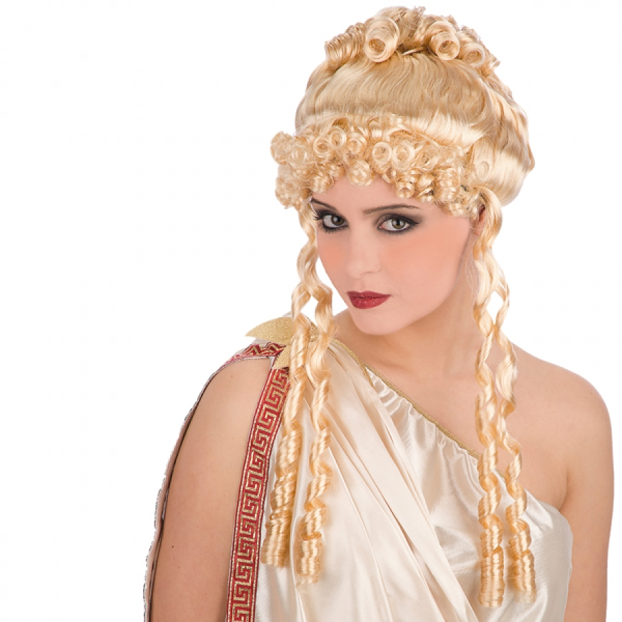 parrucca bionda da romana (ct2760-18)