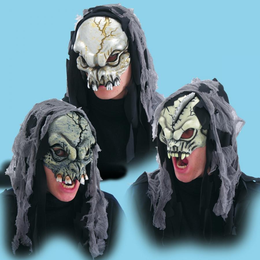 maschera viso halloween