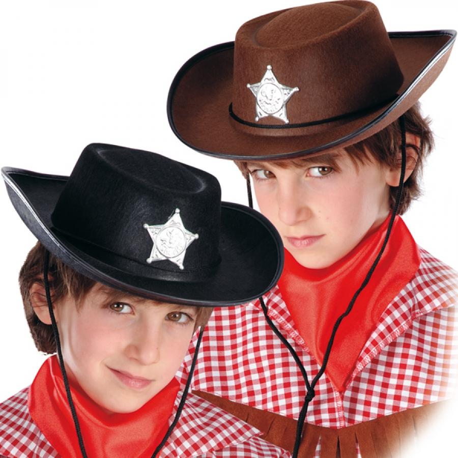 cappello carnevale da cow-boy NERO(ct5900-254) su Masina Shop 5d707bc95c16